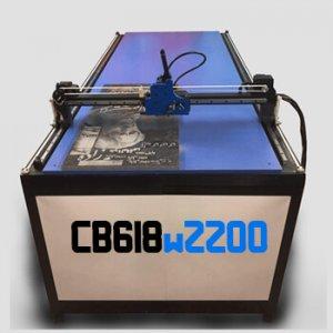 دستگاه حکاکی روی سنگ مدل CB618W2200 دستگاه CNC سنگ 180x60 cm