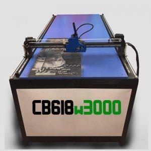 دستگاه حکاکی روی سنگ مدل CB618W3000 دستگاه CNC سنگ 180x60 cm