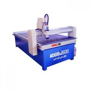 دستگاه حکاکی روی چوب مدل WD618W1500 دستگاه CNC چوب 60x180 cm