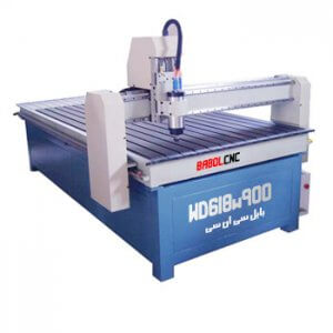 دستگاه حکاکی روی چوب مدل WD618W900 دستگاه CNC چوب 60x180 cm