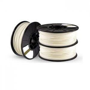 فیلامنت ABS پرینتر سه بعدی 1.75 میلیمتر رنگ سفید 1 کیلوگرم
