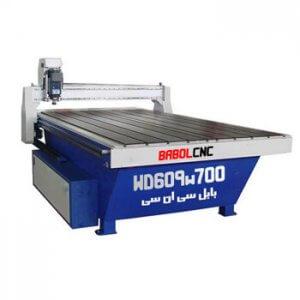 دستگاه حکاکی روی چوب مدل WD609W700 دستگاه CNC چوب 60x90 cm
